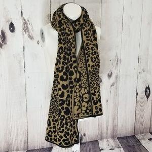 Leopard Print MK Scarf